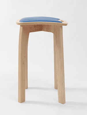 Jonathan Rose Design Develop Contemporary Scandinavian Inspired Furniture Stool Furniture Stools Collaboration Stool Side 1
