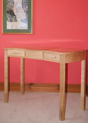 Jonathan Rose Design Develop Contemporary Scandinavian Inspired Furniture Table Furniture Oak Dressing Table Closed